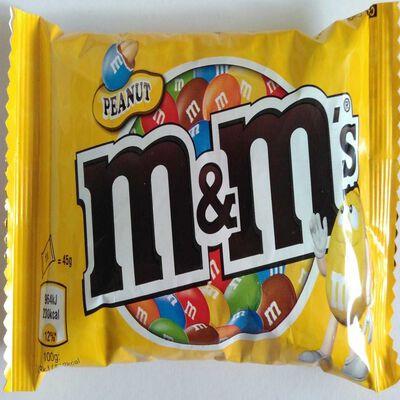 M&M'S CACAHUETES (36)45GR
