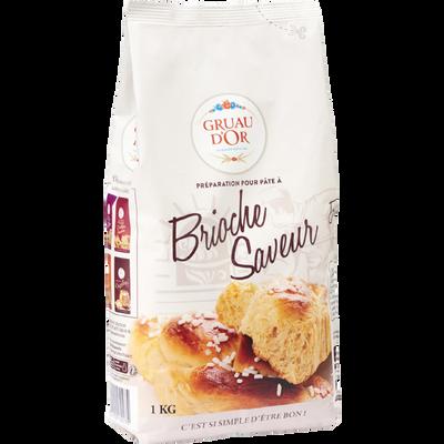 Farine GRUAU D'OR brioche saveur 1kg