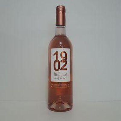 Rosé 1902 cdp LES BONS VINS GUILLOT bouteille 75cl