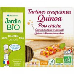 Tartines craquantes Quinoa Pois chiche SG JARDIN BIO 150g