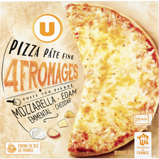 Pizza 4 fromages U, 350g