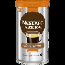 Café soluble azera americano NESCAFE, pot de 100g