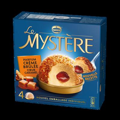 EXTREME Mystère crème brûlée coeur caramel, x4, 308g