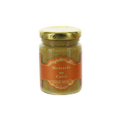 Moutarde au curry ALBERT MENES,100g