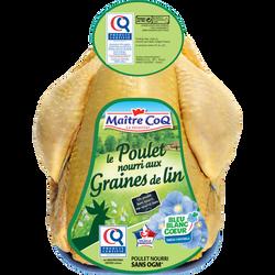 Poulet certifié jaune oméga 3, MAITRE COQ, France, 1 pièce
