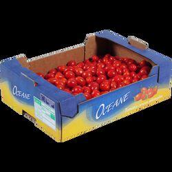 Tomate cerise, segment Les cerises allongées, catégorie Extra, France
