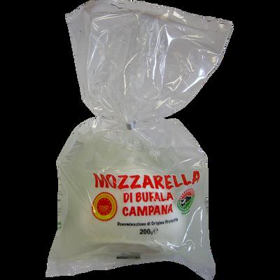 Mozzarella di bufala campana AOP au lait pasteurisé, 25%MG, 200g