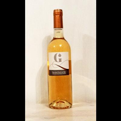 """Vin rosé de pays du Var """"G"""" IGP, bouteille de 75cl"""