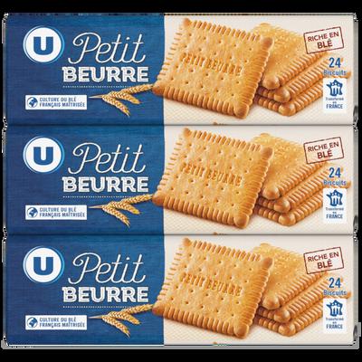 Petit Beurre U paquet 3x200g