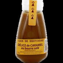 Crème délice au caramel beurre salé,CREPERIE D'EMERAUDE, 1 pièce, 300g