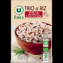 Trio de riz U BIO, boîte de 500g