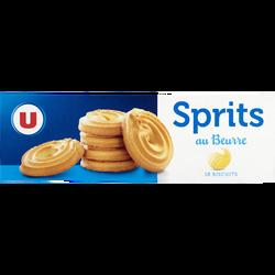Sprits au beurre U, paquet de 400g