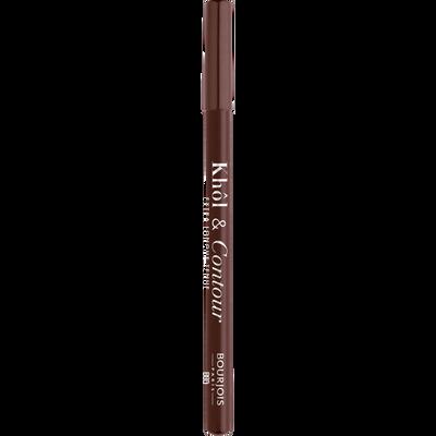 Crayon khôl & contour 2 en 1 05 choco-lacté BOURJOIS