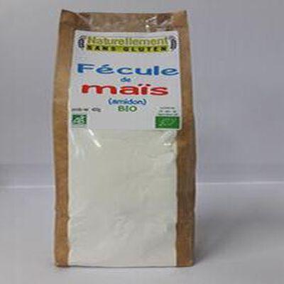 Fécules de maïs (amidon) BIO NATURELLEMENT SANS GLUTEN 400G