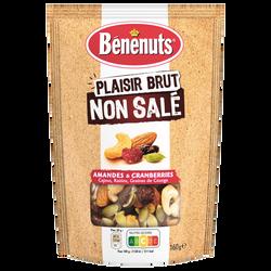 Plaisir brut mix noix/cranberries grillées BENENUTS 160g