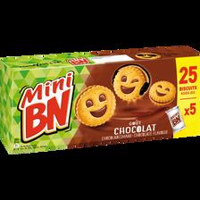 Mini BN chocolat, 5 pochons, 175g