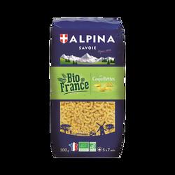 Coquillettes bio ALPINA SAVOIE, paquet de 500g