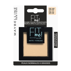 Poudre fit me 128 blister MAYBELLINE