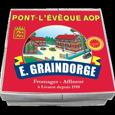 Petit Pont l'Evèque AOP, au lait pasteurisé, GRAINDORGE & FILS, 23% deMG, 220g