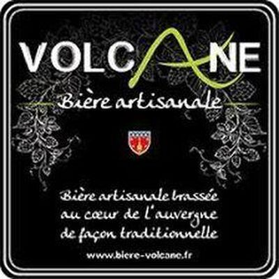 """Bière artisanale LA VOLCANE """"La bête rousse"""" bière blonde 33cl"""