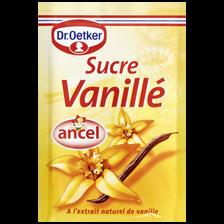 Dr. Oetker Sucre Vanillé Ancel, 10 Sachets, 80g