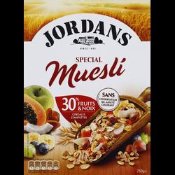 Céréales Spécial Muësli JORDAN'S, 750g