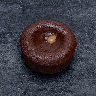 Coeur coulant chocolat caramel décongelé, 2 pièces, 180g