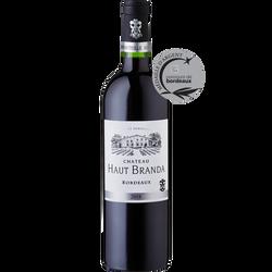 Bordeaux AOP rouge Château Haut Branda 2018 75cl