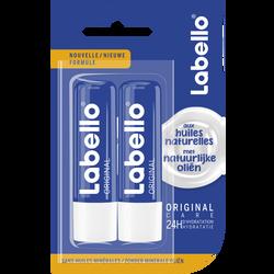 Stick pour les lèvres original sous blister LABELLO, 2x4,8g sous blister