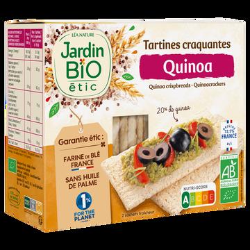 Jardin Bio Tartines Craquantes Au Quinoa Bio Jardin Bio 150g