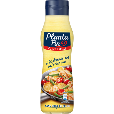 Margarine liquide cuisine facile, PLANTA FIN, 82% de MG, 500ml