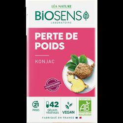 Gélules végétales konjac bio BIOSENS x42