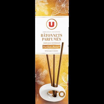 Bâtonnets parfumés parfum boisé U, 35g