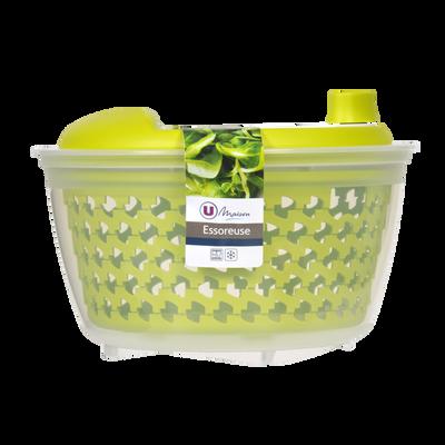 Essoreuse à salade U MAISON, 4,5l, verte