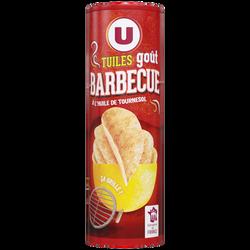 Tuiles goût barbecue U, paquet de 170g