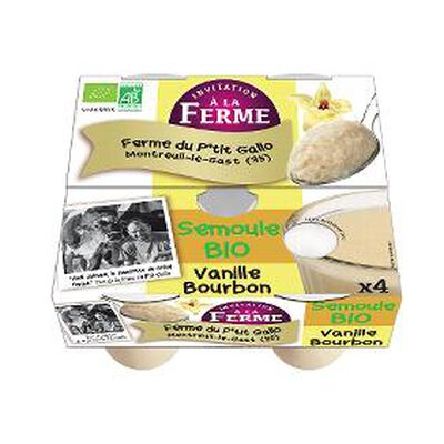SEMOULE VANILLE X4 ferme d'ana soiz
