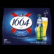 1664 Bière Blonde 1664, 5,5°, Pack De 20x25cl