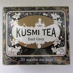 Earl Grey - Etui 20 sachets mousse, thé noir kusmi tea.