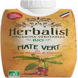 Maté Vert au Jus de Passion & Guarana - Herbalist - 33 cL