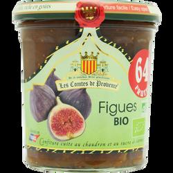 Confiture de figue bio LES COMTES DE PROVENCE, 350g