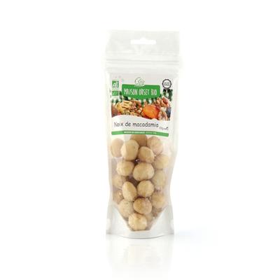 Noix de macadamia bio MAISON ORSET BIO, sachet de 100g