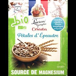 Céréales pétales épeautre BIO LUCIEN GEORGELIN, paquet de 250g