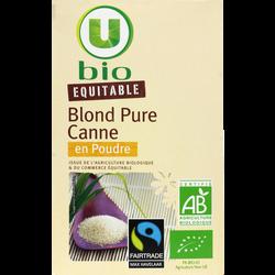 Blond pure canne en poudre U BIO, 500g