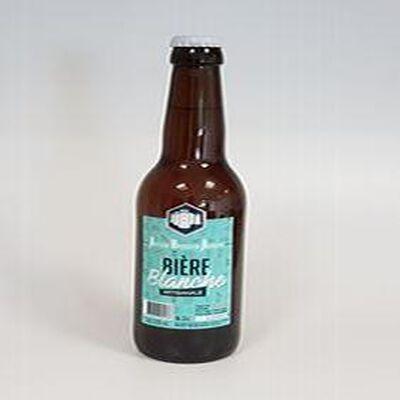 Bière Blanche Brasserie Artisanale 33 cl