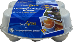 OEUFS CHAMPAGNE X6 GROS