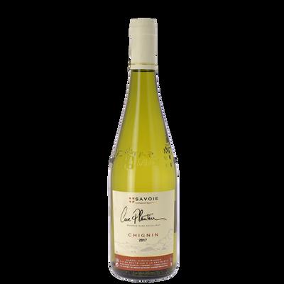 Vin blanc de Savoie Chignin Plantin AOP, bouteille de 75cl