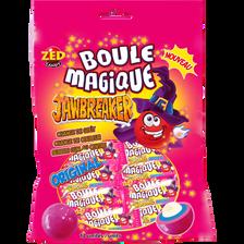 Bonbons dur avec centre de chewing gum BOULE MAGIQUE,  sachet de 175g