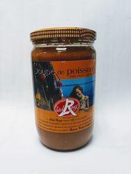 soupe de poisson LABEL ROUGE, bocal de 720 ml, AZAIS ET POLITO