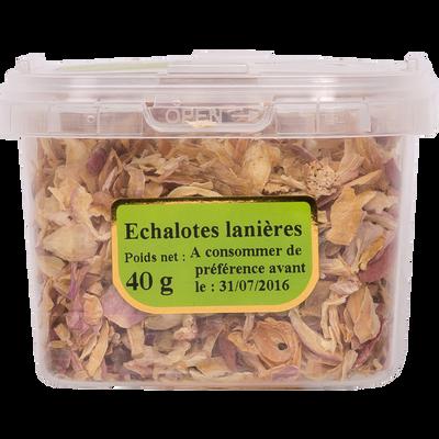 Echalote en lanières, pot 40g