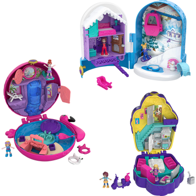 BOX 4 UVC POLLY POCKET UNIVERS